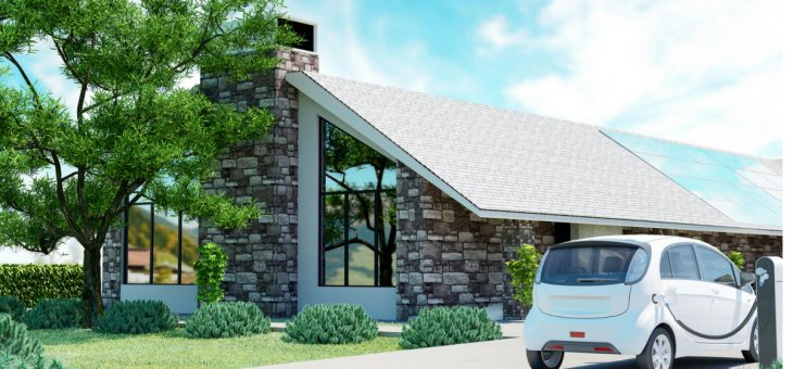 Instalación de punto de recarga en vivienda unifamiliar