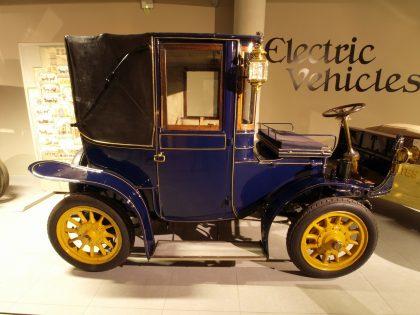 vehículos eléctricos historia