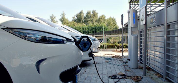 Puntos de carga para coche eléctrico