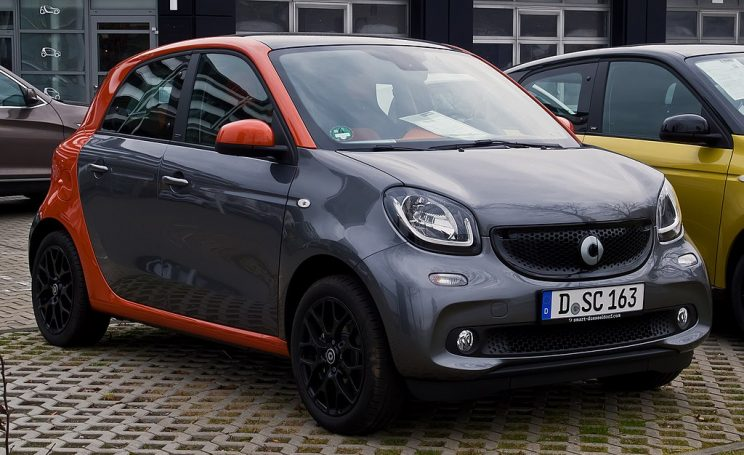 Coche electrico Smart EQ forfour