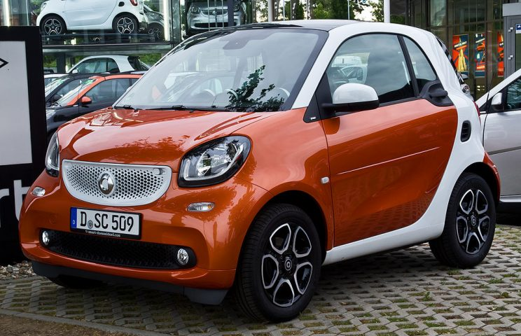 Coche electrico Smart EQ fortwo