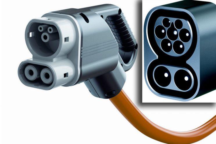 Conector para coche electrico CCS 2