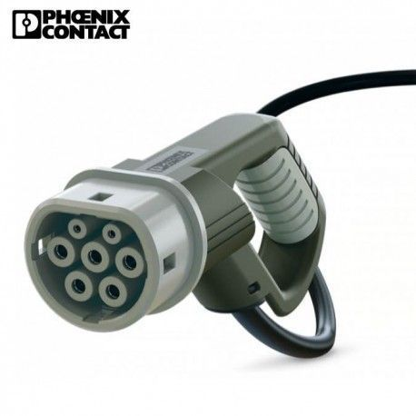 Conector coche electrico tipo 2