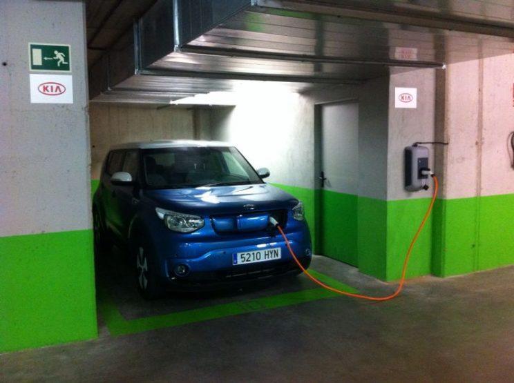 tipos de recargas de coches electricos