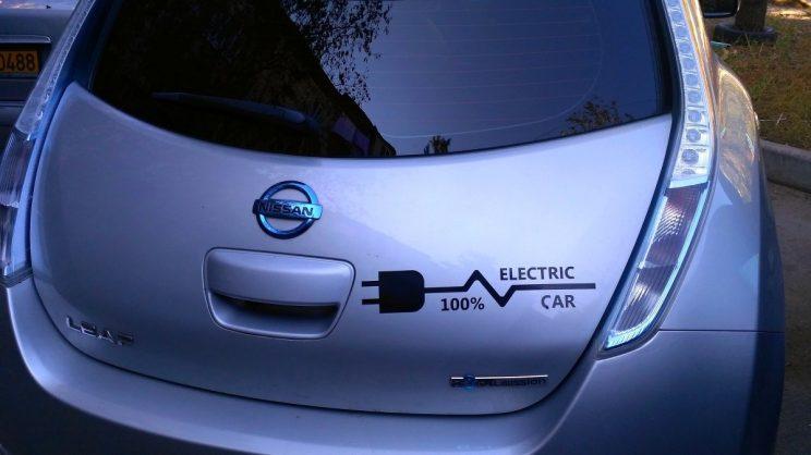 coche electrico mdos de recarga